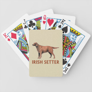 irish setter poker deck