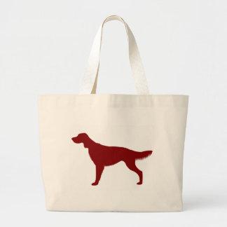 Irish Setter (Red) Large Tote Bag