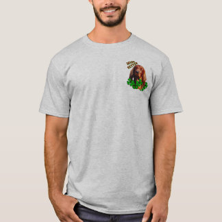 Irish setter shamrock T-Shirt