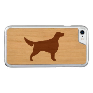 Irish Setter Silhouette Carved iPhone 8/7 Case