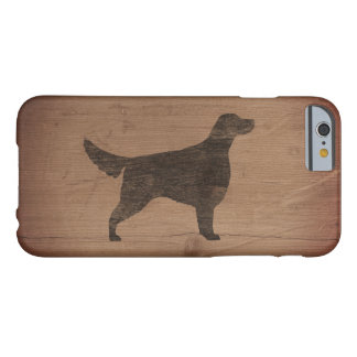 Irish Setter Silhouette Rustic Barely There iPhone 6 Case