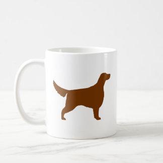 Irish Setter Silhouettes Coffee Mug