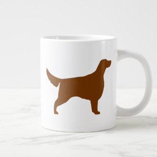 Irish Setter Silhouettes Large Coffee Mug