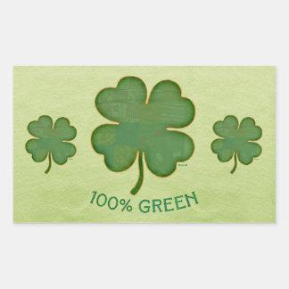 Irish Shamrock - 100% Green