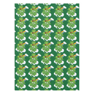 Irish Shamrock * choose your background color Tablecloth