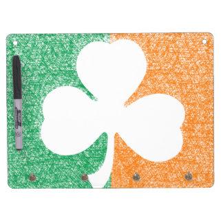 Irish Shamrock custom message board Dry-Erase Board