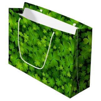 Irish Shamrock Gift Accessories Large Gift Bag