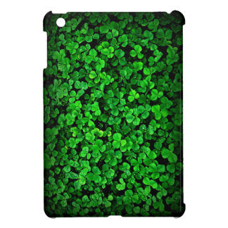 Irish shamrock green clover Ireland Cover For The iPad Mini