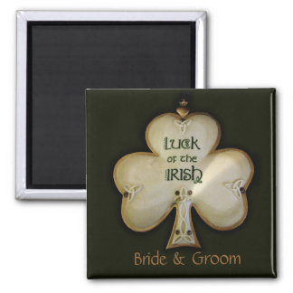 Irish Shamrock Magnet
