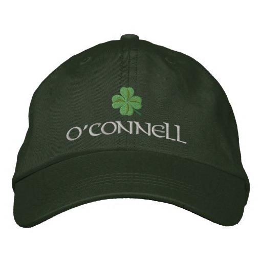 Irish shamrock personalized baseball cap