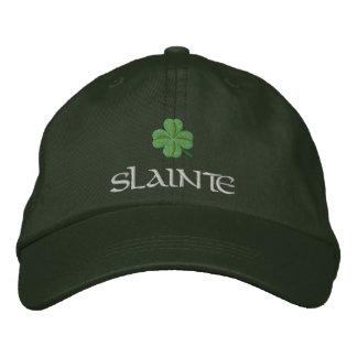 Irish shamrock slainte St Patrick's Baseball Cap