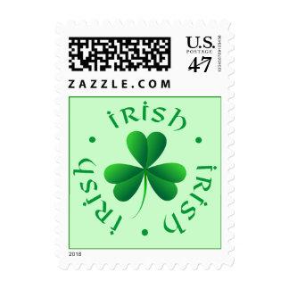 Irish Shamrock Stamp