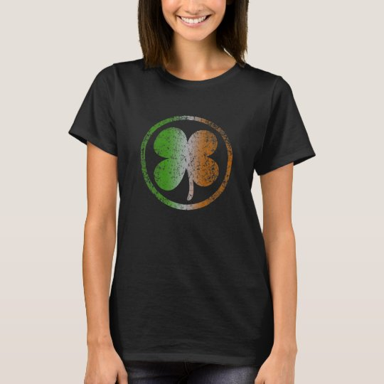Irish Shamrock t shirt