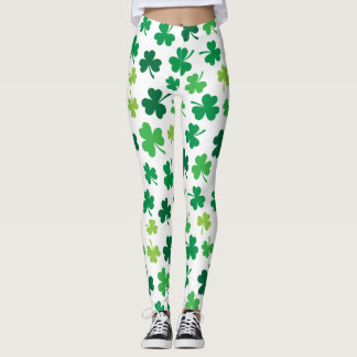 Irish Shamrock Themed | St. Patricks Day Leggings