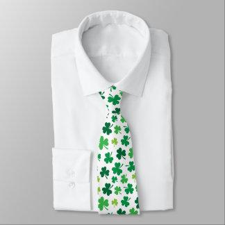 Irish Shamrock Tie   St. Patricks Day Attire