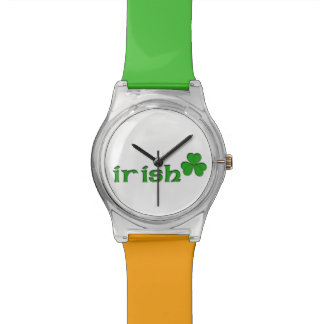 irish shamrock watch