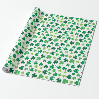 Irish Shamrock Wrapping Paper | St. Patricks Day