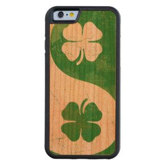 Irish Shamrock Yin Yang Cherry iPhone 6 Bumper Case