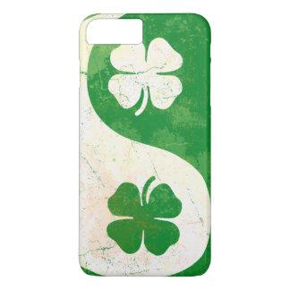 Irish Shamrock Yin Yang iPhone 7 Plus Case