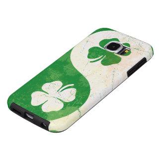 Irish Shamrock Yin Yang Samsung Galaxy S6 Cases