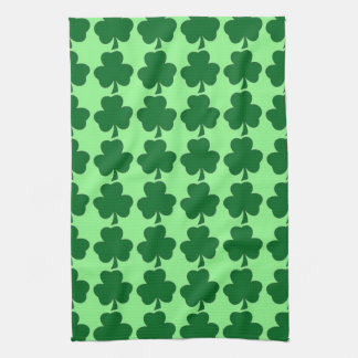 Irish Shamrocks American MoJo Kitchen Towels