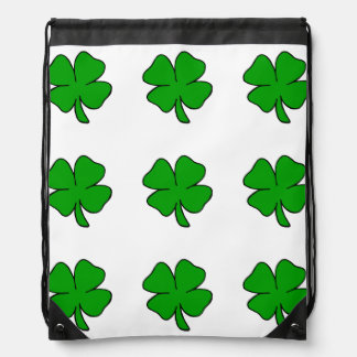 Irish Shamrocks Backpacks