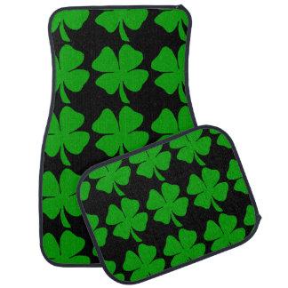 Irish Shamrocks Car Mat