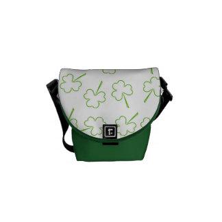 Irish Shamrocks Commuter Bag