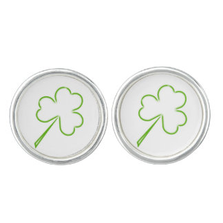 Irish Shamrocks Cufflinks