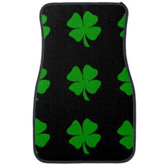 Irish Shamrocks Floor Mat