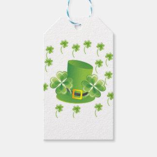 Irish Shamrocks Gift Tags