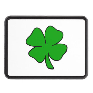 Irish Shamrocks Hitch Cover