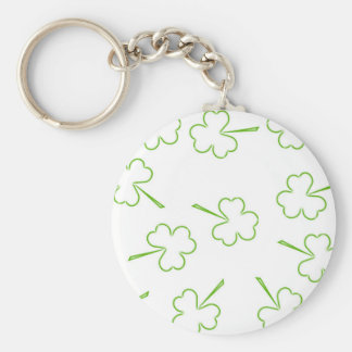 Irish Shamrocks Keychain
