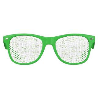 Irish Shamrocks Kids Sunglasses