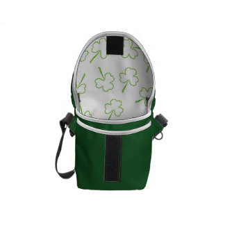 Irish Shamrocks Messenger Bag