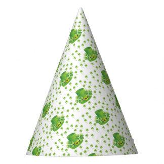 Irish Shamrocks Party Hat