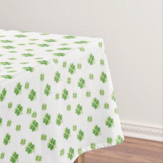 Irish Shamrocks Tablecloth