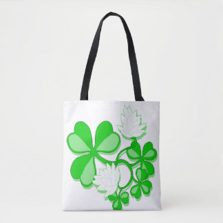 Irish Shamrocks Tote Bag