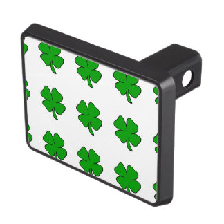 Irish Shamrocks Tow Hitch Cover