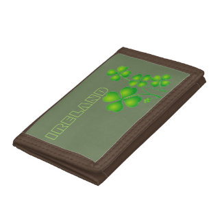 Irish Shamrocks Wallet