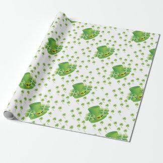 Irish Shamrocks Wrapping Paper