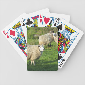 Irish Sheep Bicycle Playing Cards