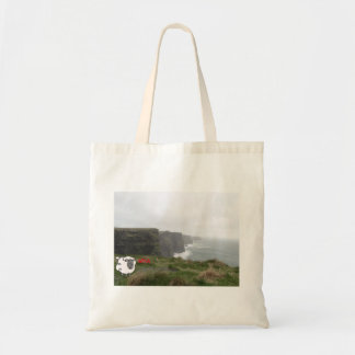 Irish sheep in Cliffs of Moher Tote Bag