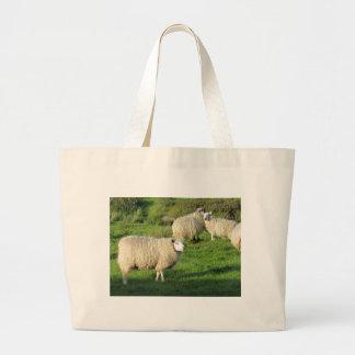 Irish Sheep Large Tote Bag