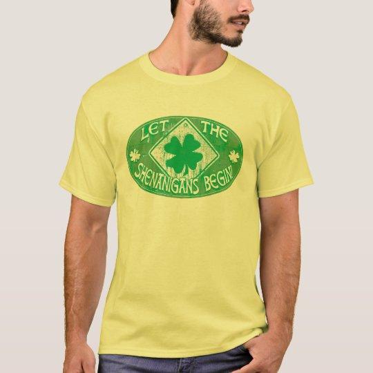 Irish  Shenanigans T-Shirt