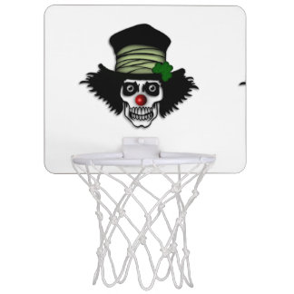 Irish Skeleton Clown Mini Basketball Hoop