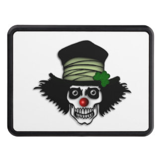 Irish Skeleton Clown Tow Hitch Covers