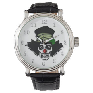 Irish Skeleton Clown Watches