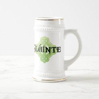 Irish Slainte Beer Stein