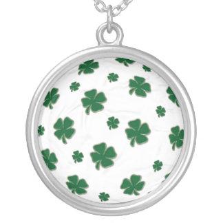 Irish Soccer Ball Necklace
